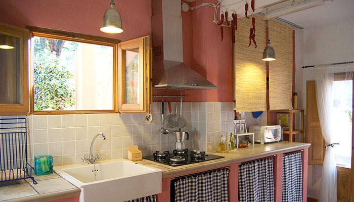 casa rural la trastienda cocina